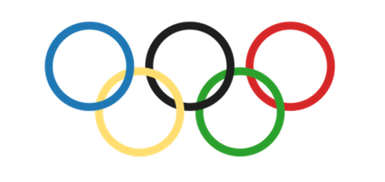 The Olympic rings as drawn by Tableau